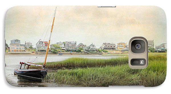 Galaxy Case featuring the photograph Low Tide On The Basin by Karen Lynch