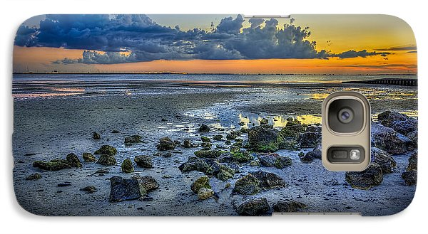 Low Tide On The Bay Galaxy S7 Case