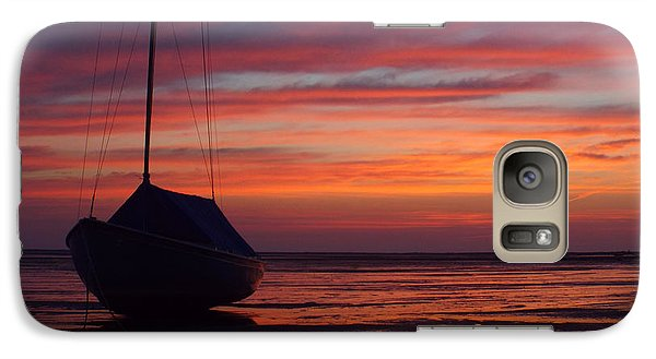 Galaxy Case featuring the photograph Sunrise At Low Tide by Dianne Cowen