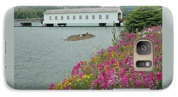 Galaxy Case featuring the photograph Lowell Covered Bridge by Nick  Boren