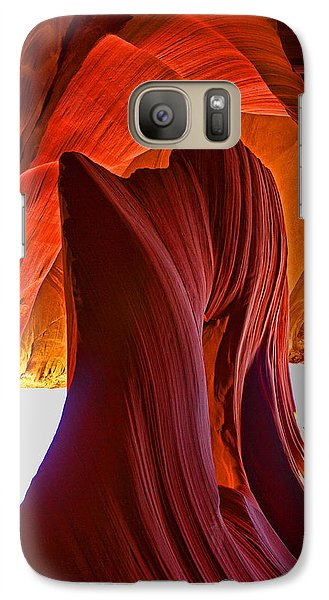 Galaxy Case featuring the photograph Lower Antelope Keyhole - Phone Version by Gregory Scott