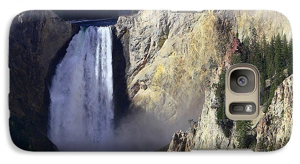 Galaxy Case featuring the photograph Lower Falls by David Andersen