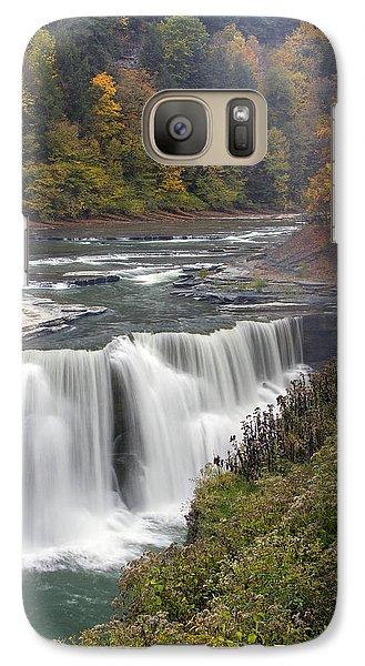 Galaxy Case featuring the photograph Lower Falls by Timothy McIntyre
