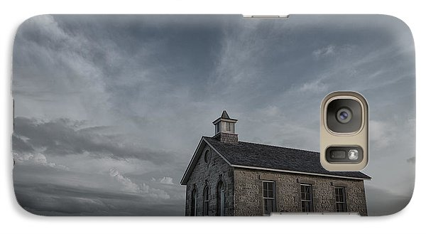 Galaxy Case featuring the photograph Lower Fox Creek School  by Keith Kapple