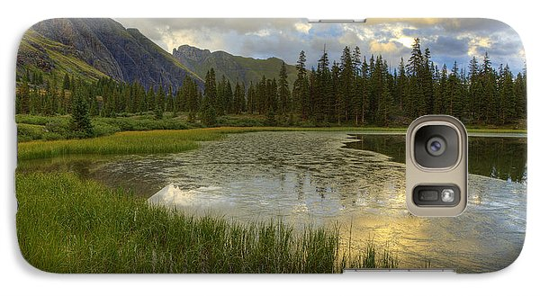 Galaxy Case featuring the photograph Lower Ice Lake by Alan Vance Ley