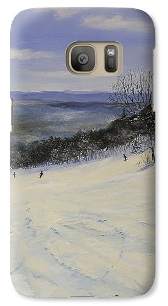 Galaxy Case featuring the painting Lower Wanderer by Ken Ahlering