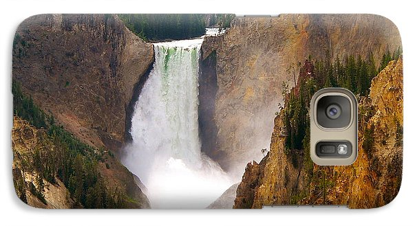 Galaxy Case featuring the photograph Lower Yellowstone Falls by Eric Tressler