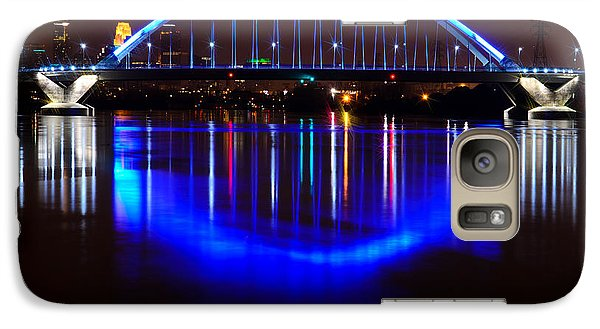 Galaxy Case featuring the photograph Lowry Bridge by RC Pics