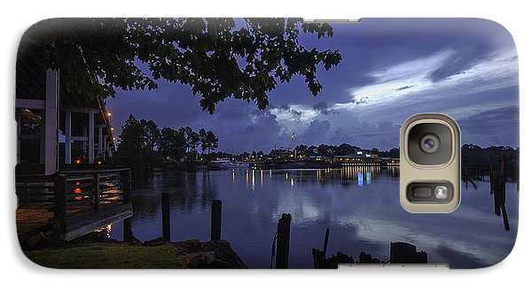 Galaxy Case featuring the digital art Lu Lu S Before The Storm by Michael Thomas