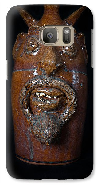 Galaxy Case featuring the painting Lucifer Jug by Izabella West