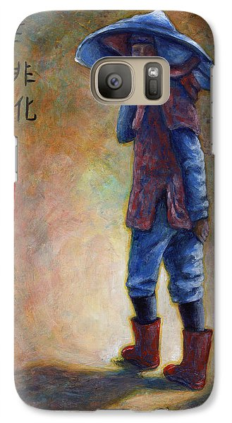 Lucky Red Boots Galaxy S7 Case