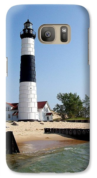 Ludington Michigan's Big Sable Lighthouse Galaxy S7 Case