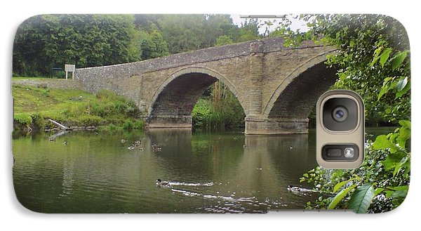 Galaxy Case featuring the photograph Ludlow Bridge by John Williams