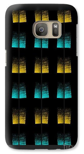 Galaxy Case featuring the digital art Luminescence 7a by Darla Wood