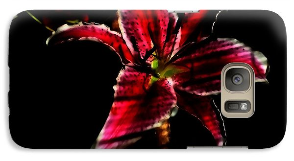 Galaxy Case featuring the photograph Luminet Darkness by Jessica Shelton