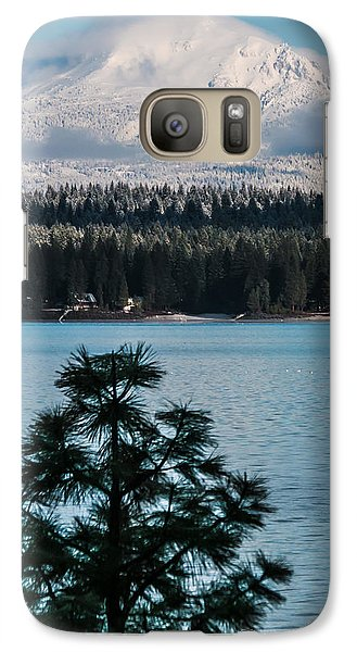 Galaxy Case featuring the photograph Luminous Lassen by Jan Davies