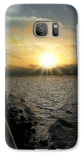 Galaxy Case featuring the photograph Luminous Sunrise Of Hope by Joetta Beauford