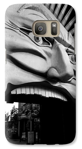 Galaxy Case featuring the photograph Luna Park Melbourne by Serene Maisey