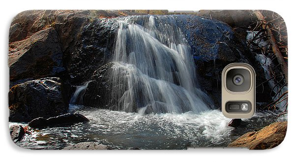 Galaxy Case featuring the photograph Lundy Creek Cascades by Lynn Bauer