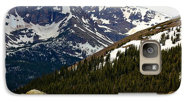 Galaxy Case featuring the photograph Lure Of The Mountain by Everett Houser