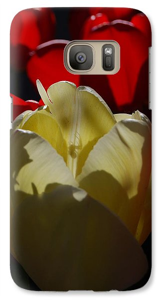 Galaxy Case featuring the photograph Lurking Shadow by Jani Freimann