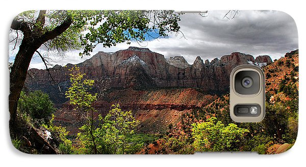 Galaxy Case featuring the photograph Luscious View by Barbara Manis