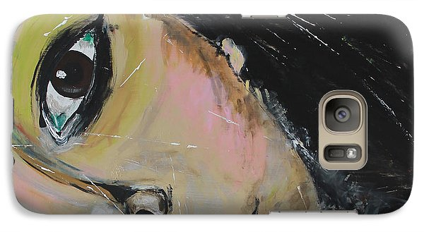 Galaxy Case featuring the painting Luuli by Lucy Matta