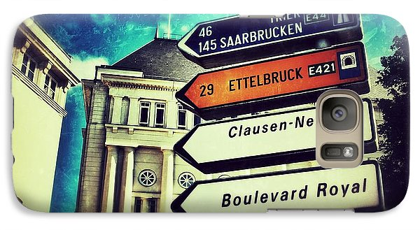 Galaxy Case featuring the photograph Luxembourg City by Nick  Biemans