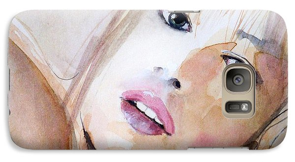 Galaxy Case featuring the painting Lyala by Ed  Heaton