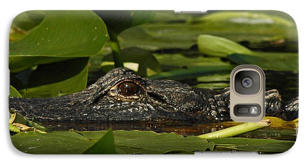 Galaxy Case featuring the photograph Lying In Wait by Vivian Christopher