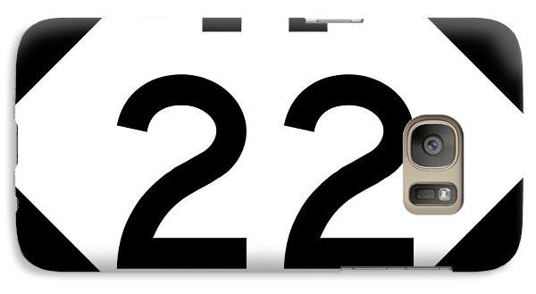 M 22 Galaxy S7 Case