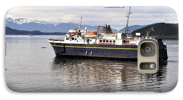 Galaxy Case featuring the photograph M/v Leconte by Cathy Mahnke