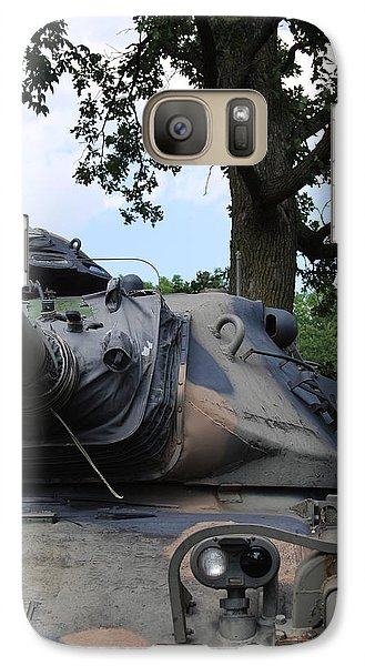 Galaxy Case featuring the photograph M60a3 Us Tank 03 by Ramona Whiteaker