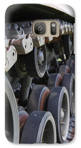 Galaxy Case featuring the photograph M60a3 Us Tank 04 by Ramona Whiteaker