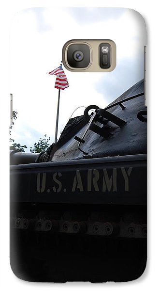 Galaxy Case featuring the photograph M60a3 Us Tank 05 by Ramona Whiteaker
