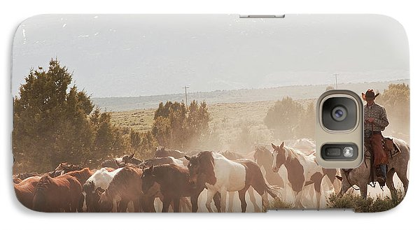 Galaxy Case featuring the photograph Mabel Bound by Daniel Hebard