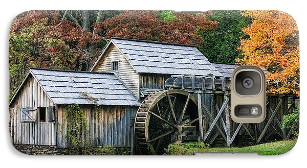 Galaxy Case featuring the photograph Mabry Mill II by Joan Bertucci