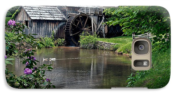 Galaxy Case featuring the photograph Mabry Mill In May by John Haldane