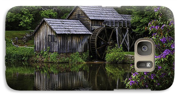 Mabry Mill In Spring Galaxy S7 Case