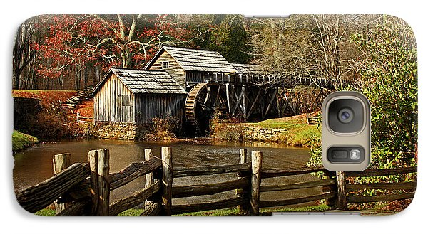 Galaxy Case featuring the photograph Mabry Mill by Suzanne Stout