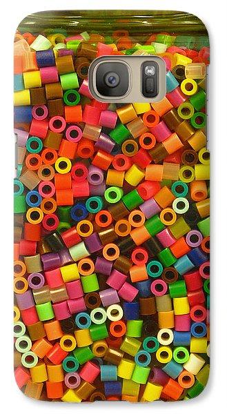 Galaxy Case featuring the photograph Macaroni Beads by Ranjini Kandasamy