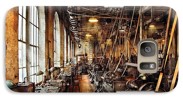 Machinist - Machine Shop Circa 1900's Galaxy S7 Case