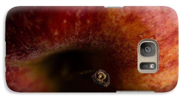Galaxy Case featuring the photograph Macro Apple by Erin Kohlenberg