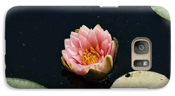 Galaxy Case featuring the photograph Madam Wilfron Gonnere Aka. Water Lily by Ramona Whiteaker