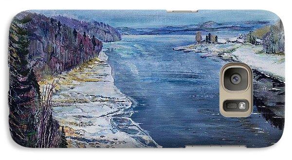 Galaxy Case featuring the painting Madawaska by Iya Carson