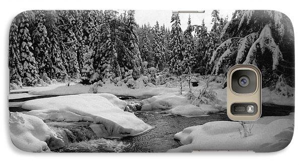 Galaxy Case featuring the photograph Madawaska River by David Porteus