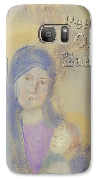 Galaxy Case featuring the digital art Madonna And Child by Arline Wagner