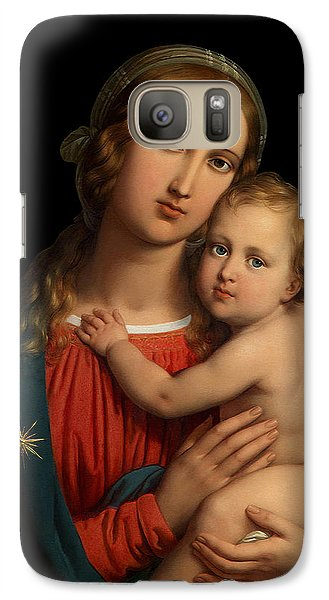 Galaxy Case featuring the digital art Madonna by Johann Ender