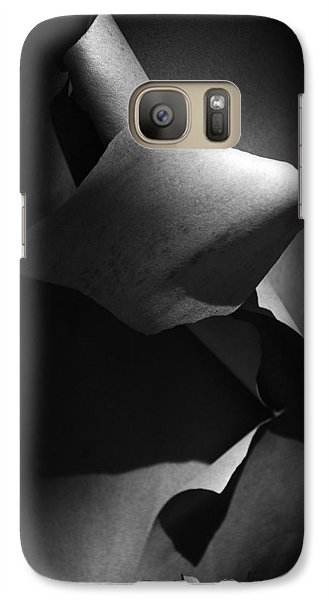 Madrona Bark Black And White Galaxy S7 Case