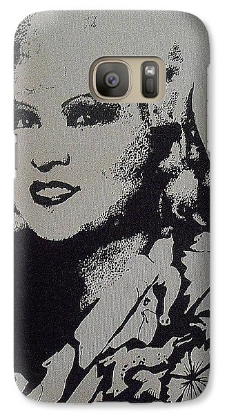 Galaxy Case featuring the painting Mae West by Cherise Foster